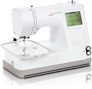 Bernina Bernette 340 Deco Embroidery Sewing Machine