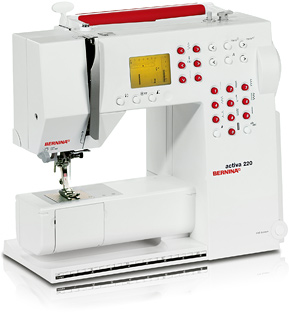 Bernina Activa 220 sewing machine