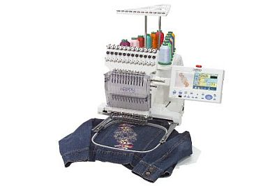 Photo of Bernina Happy Voyager commercial embroidery sewing machine