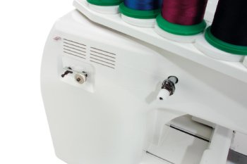 Photo of Bernina Happy Voyager embroidery sewing machine bobbin winder
