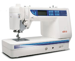 Photo of Elna 7200 quilting machine
