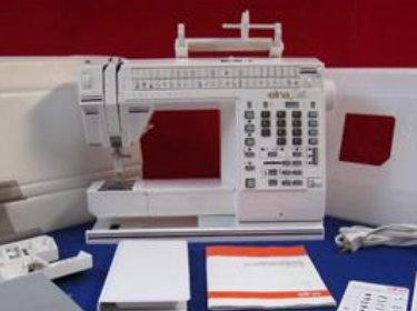 Elna 9000 sewing machine.