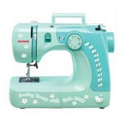Janome's Hello Kitty sewing machine, model 11706