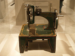Isaac Singer sewing machine, dated 1854