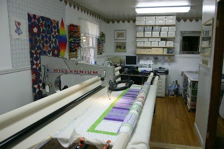 Machine Quilting Business