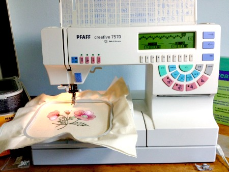 Pfaff 7570 Embroidery Machine