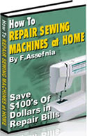 Repair Sewing Machines at Home