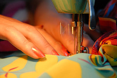 Your first sewing machine should be a basic model.