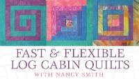 easy sewing projects with a log cabin quilts course