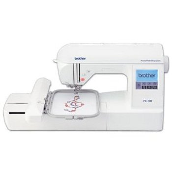 Brother PE700II embroidery sewing machine