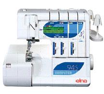 Photo of Elna 945 serger sewing machine