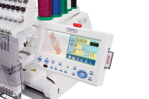 Photo of Bernina Happy Voyager emboidery flash cards