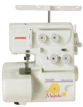 Photo of Janome 7034D Magnolia Serger Sewing Machine
