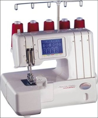 Janome Compulock Serger 888 photo