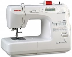 Photo of a Janome sew precise sewing machine