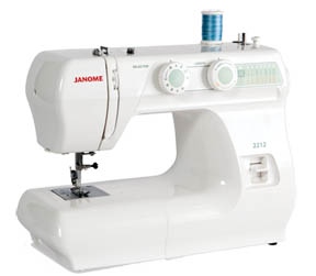 Janome 2212 Entry Level Sewing Machine