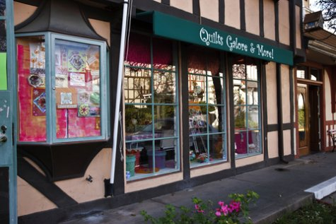 Photo of quilt shop startup business