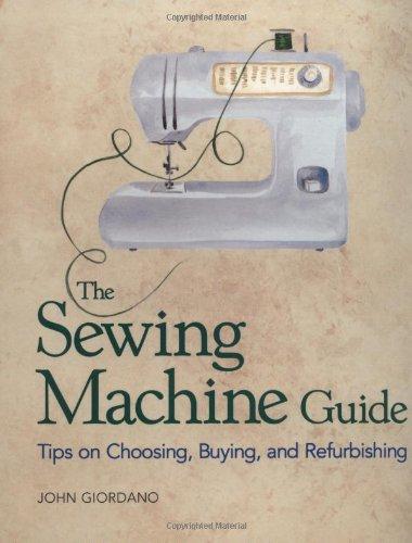 sewing machine guide book