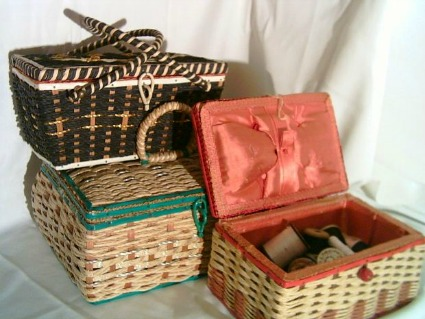 Sewing Baskets and Boxes