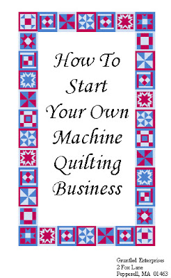 "How To Start A Machine Quilting Business"" border="