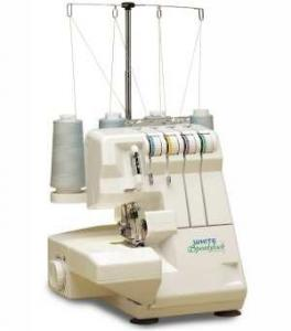 White Serger 1600 Speedylock