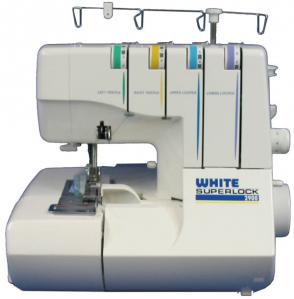 White Serger 2900