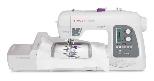 Singer Futura XL-550 embroidery sewing machine